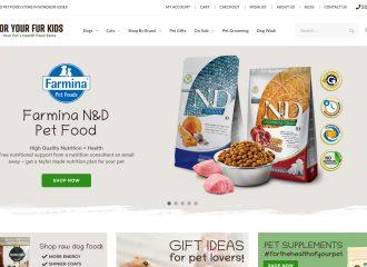 For Your Fur Kids Website Screenshot